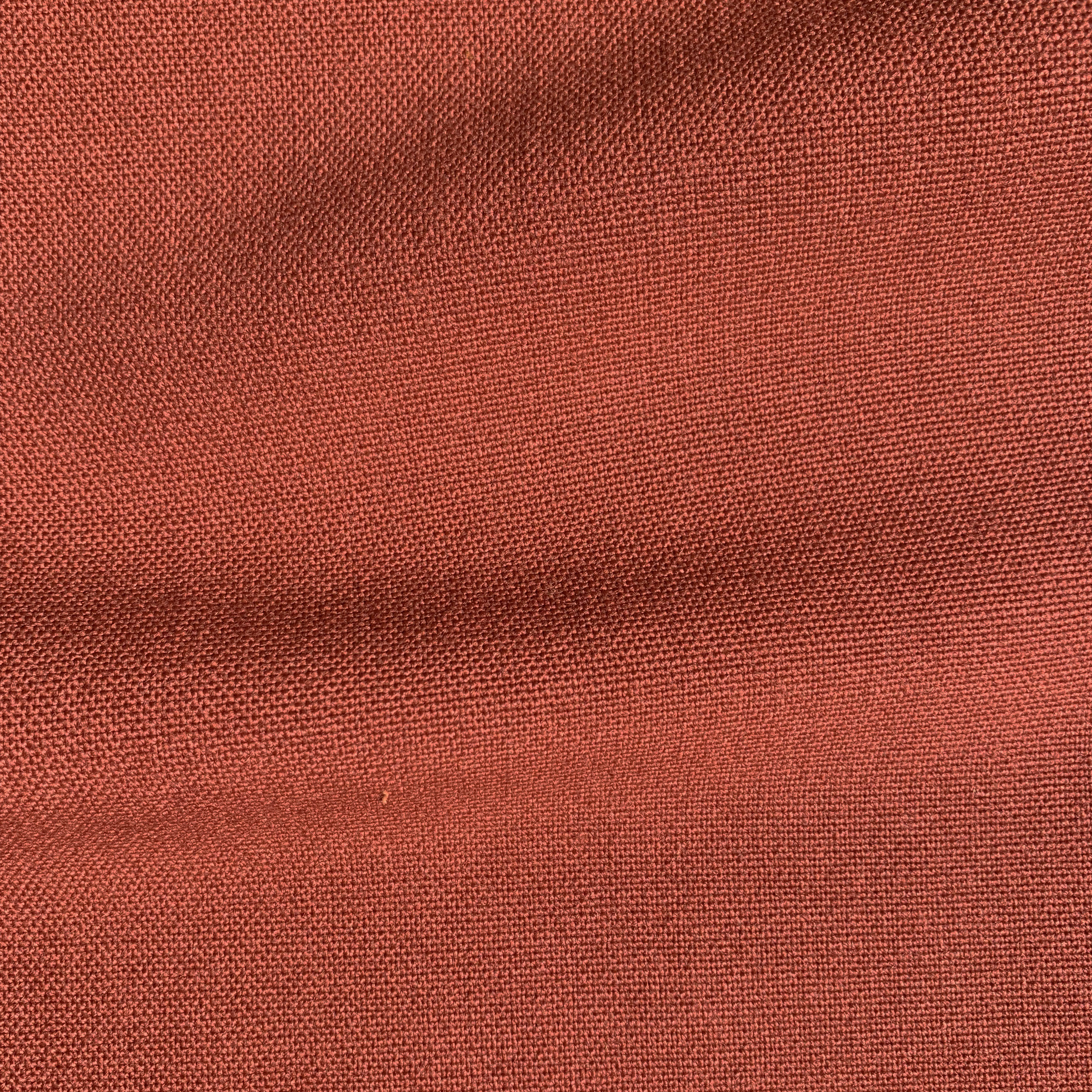 Russet fabric from the Sustainable Cord range by Sustainable Living Fabrics