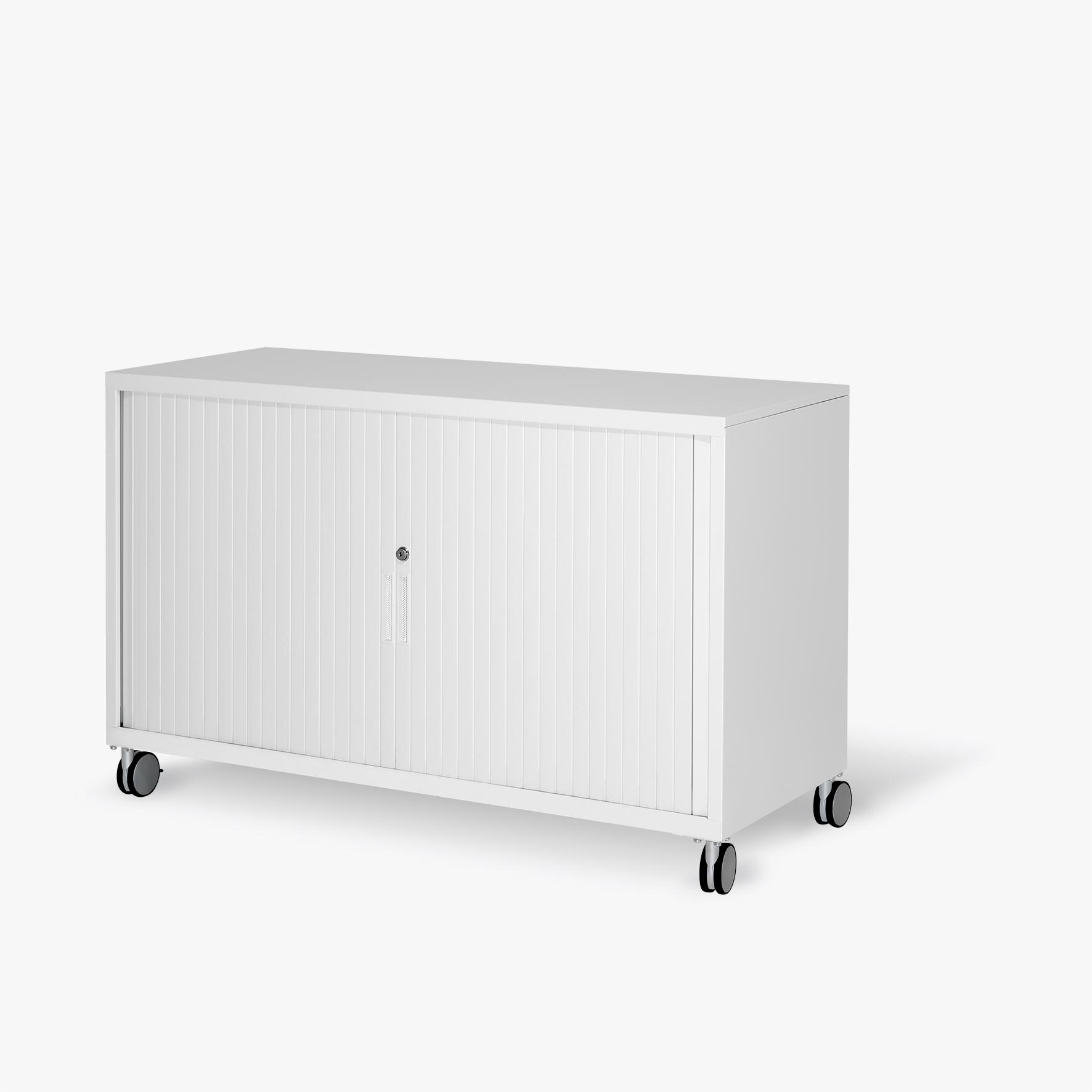 S-Series Mobile Tambour Door Cabinet by Planex