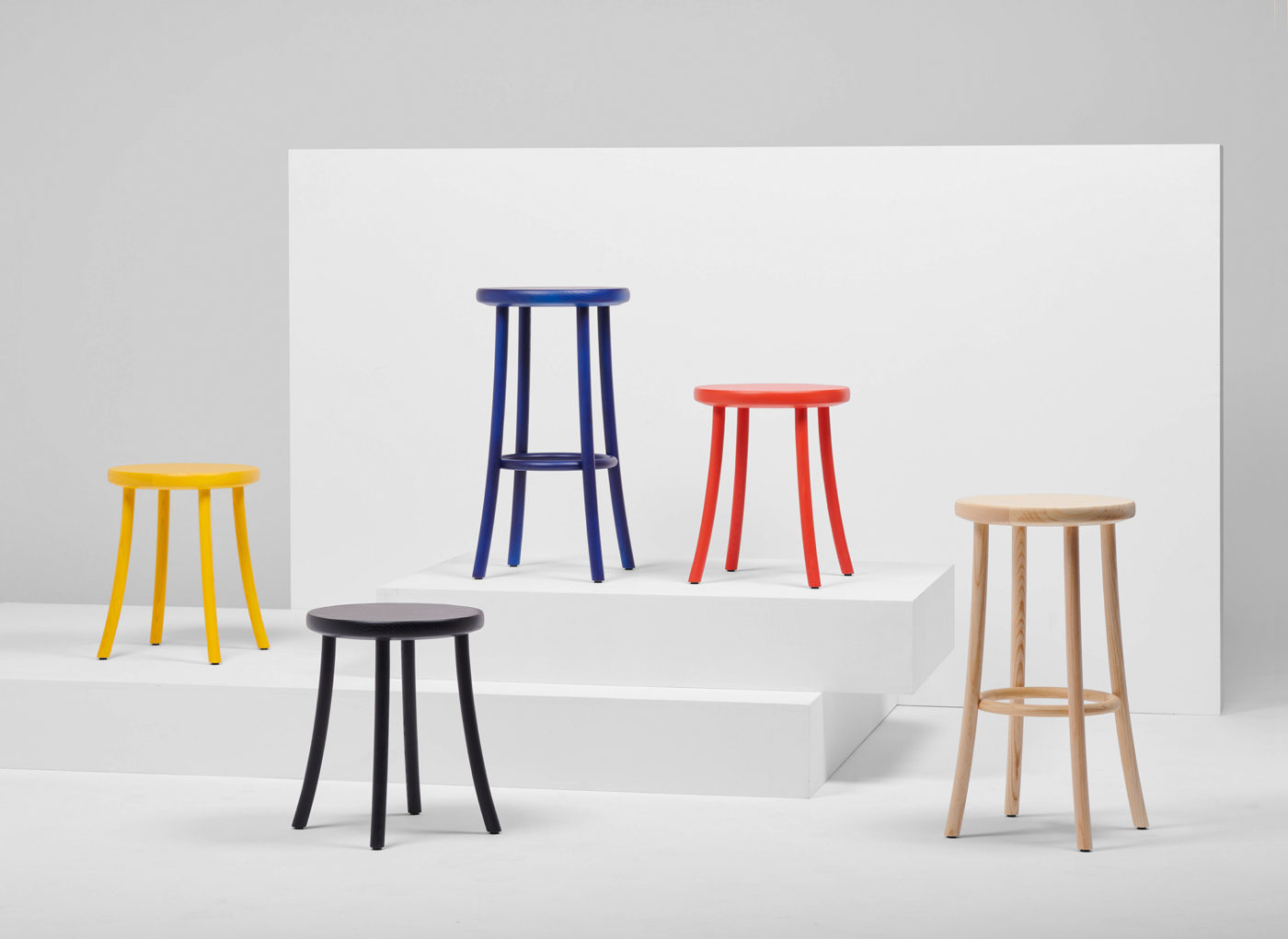 Zampa Low Stool from District