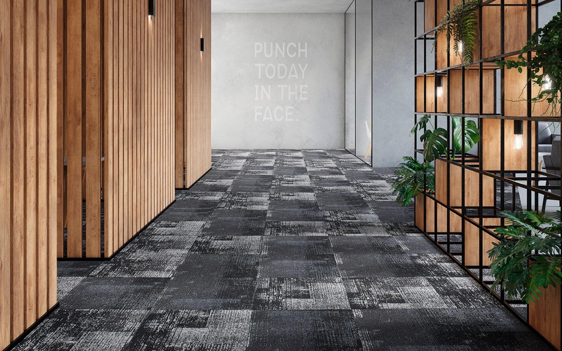 GECA certified Dusk 1 carpet by modulyss