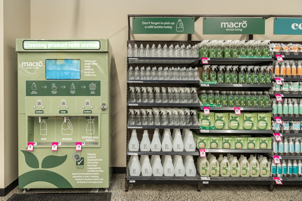 GECA Certified Macro Whole Living Refill Station